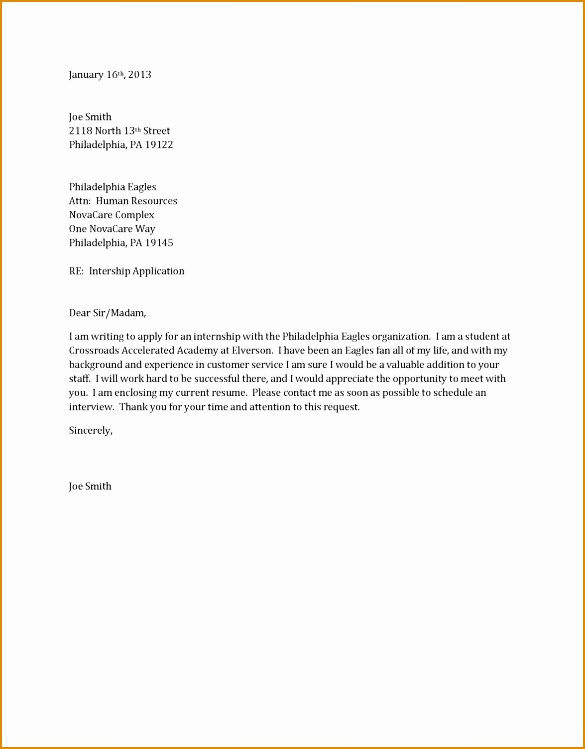 Best Job Cover Letter Awesome Sample Cover Letter for Job Application Freshers Doc Good