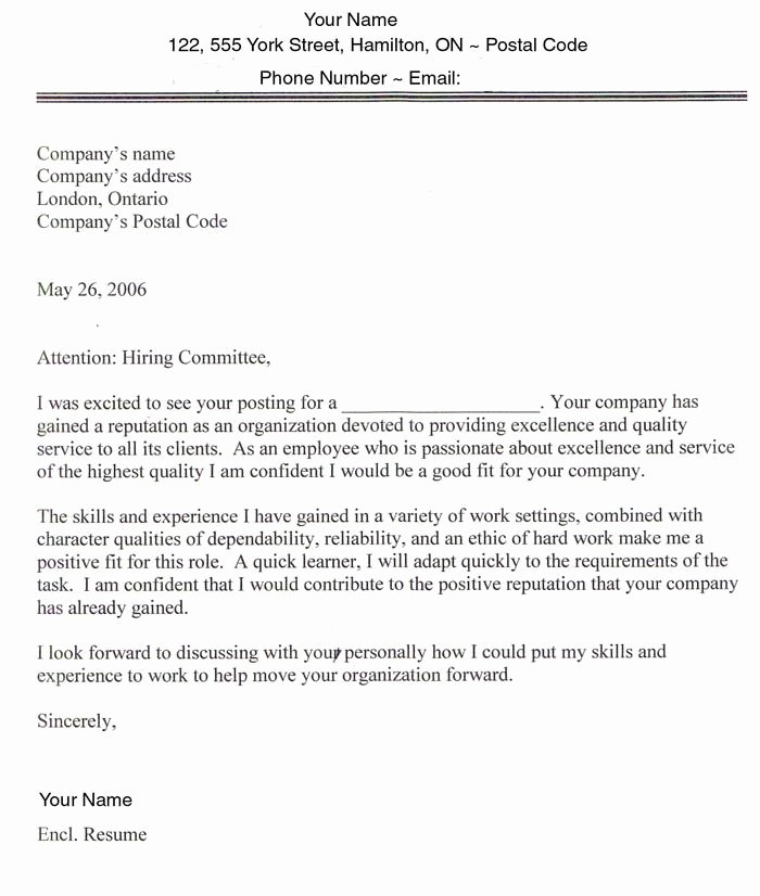 Best Job Cover Letter Awesome Sample Cover Letters for Employment