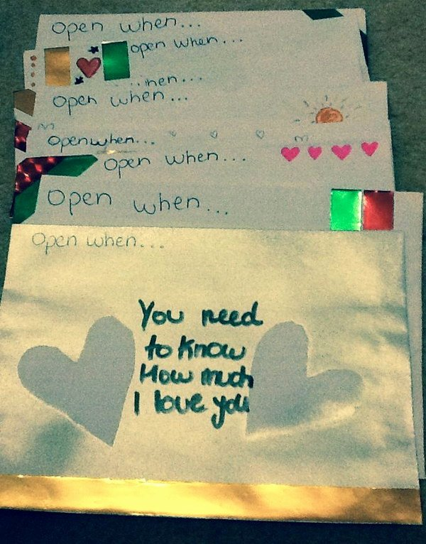Best Love Letters for Him Fresh Creative Open when Letter Ideas & Designs
