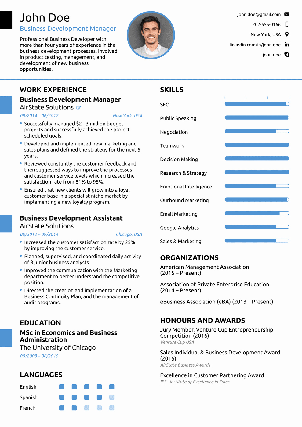 Best Resume format Awesome 2018 Professional Resume Templates as they Should Be [8 ]