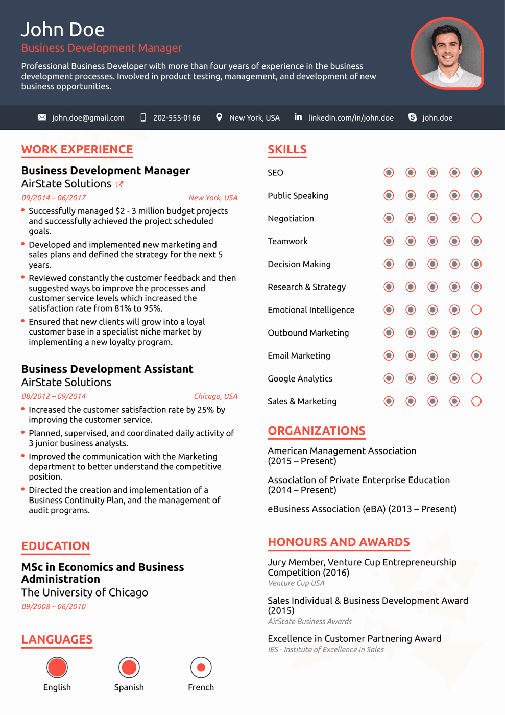 Best Resume format Awesome 8 Best Line Resume Templates Of 2018 [download & Customize]