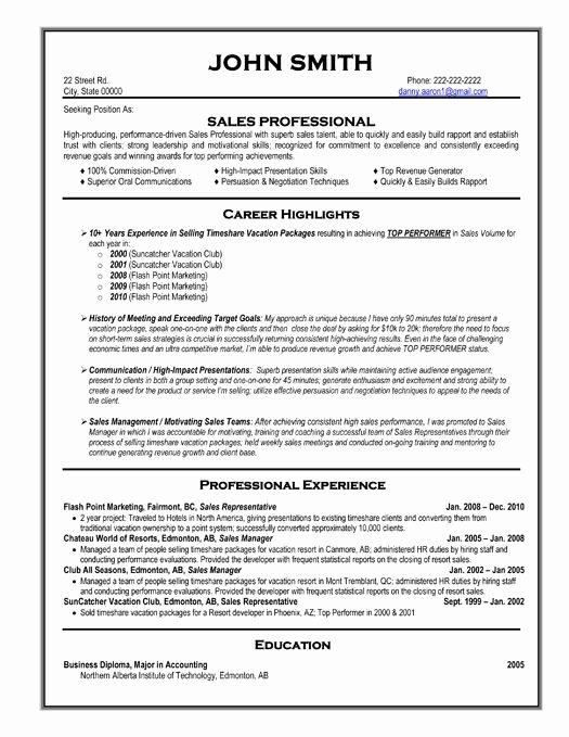Best Resume format Beautiful 59 Best Best Sales Resume Templates & Samples Images On