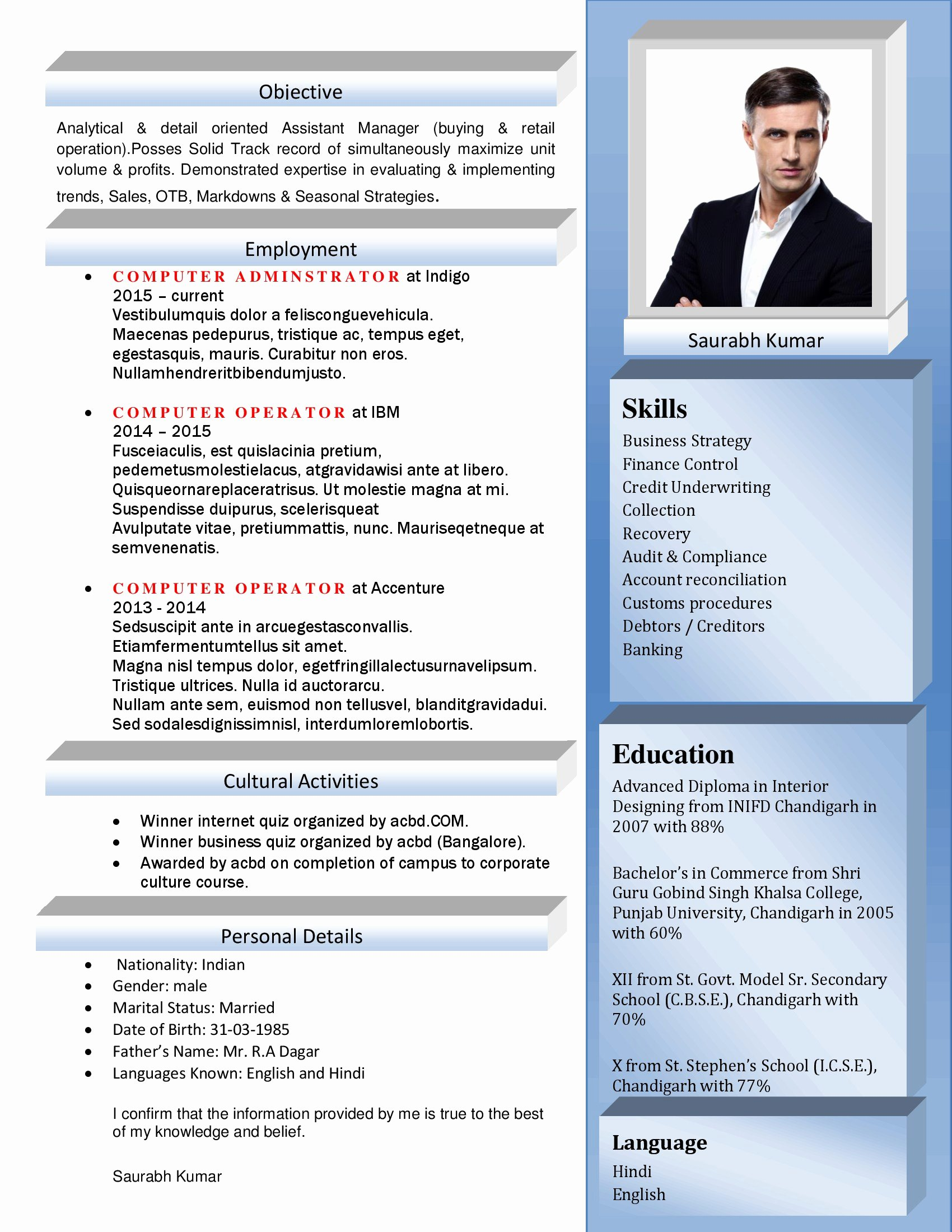 Best Resume format Beautiful Curriculum Vitae Text Cover Letter Samples Cover