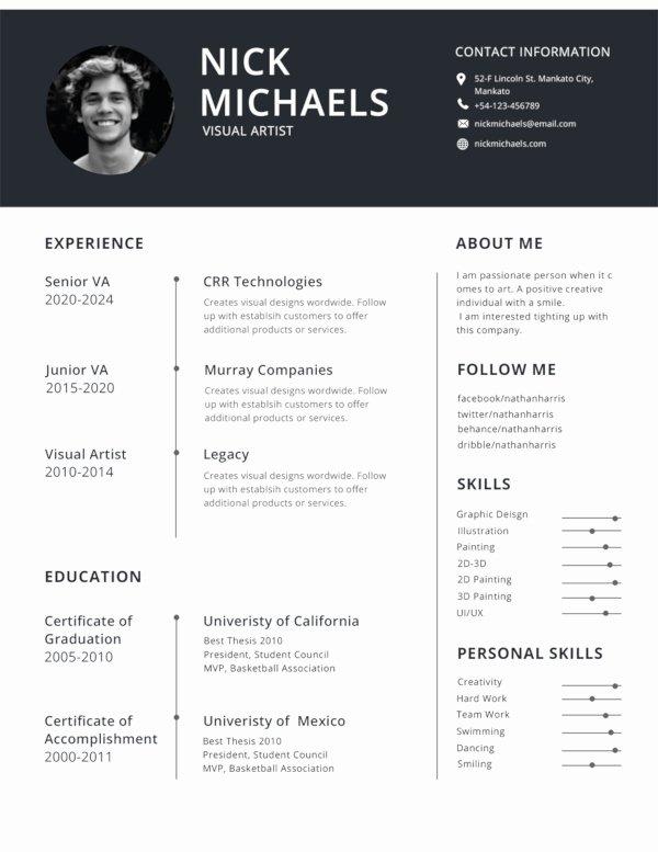 Best Resume format Best Of 47 Best Resume formats Pdf Doc