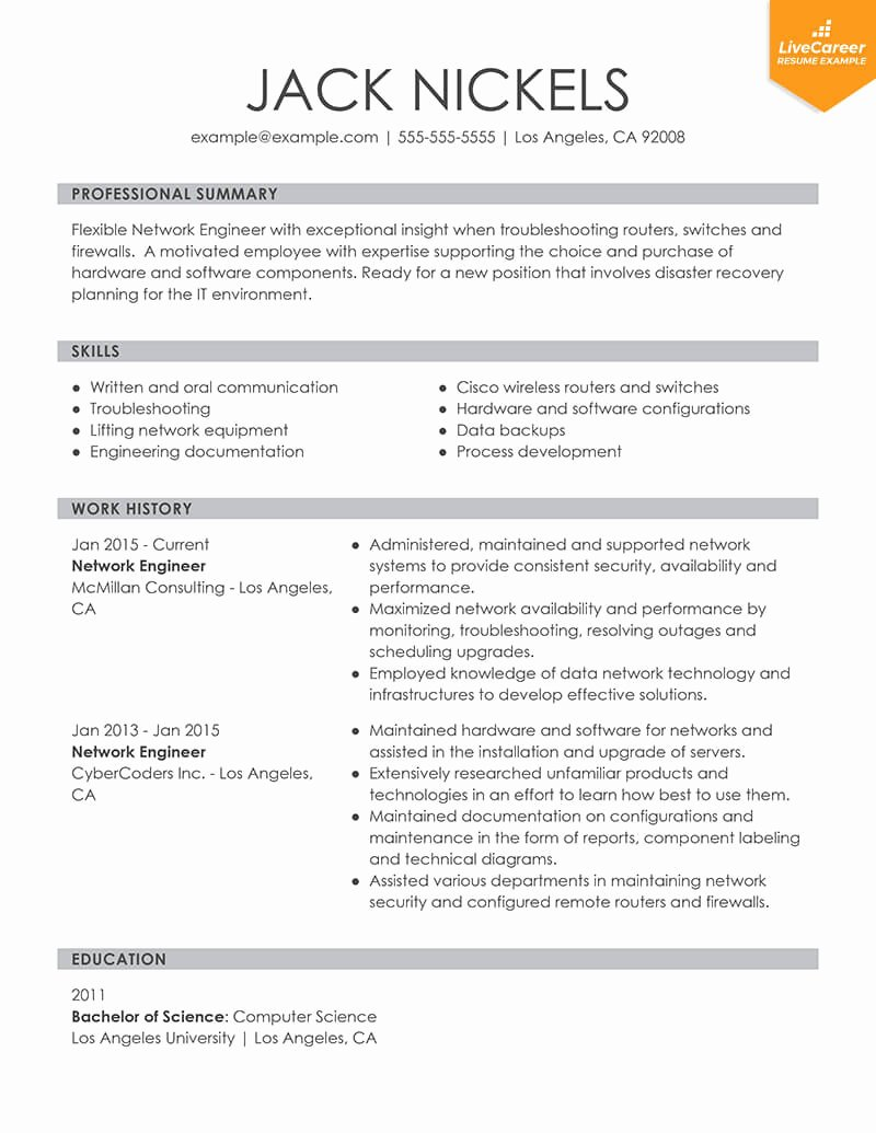 Best Resume format Best Of 9 Best Resume formats Of 2019