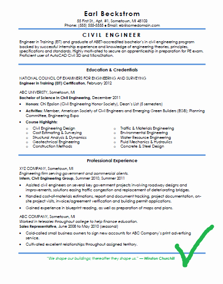 Best Resume format for Engineers Luxury Cv and Resume format for Civil Engineers Download In Docx
