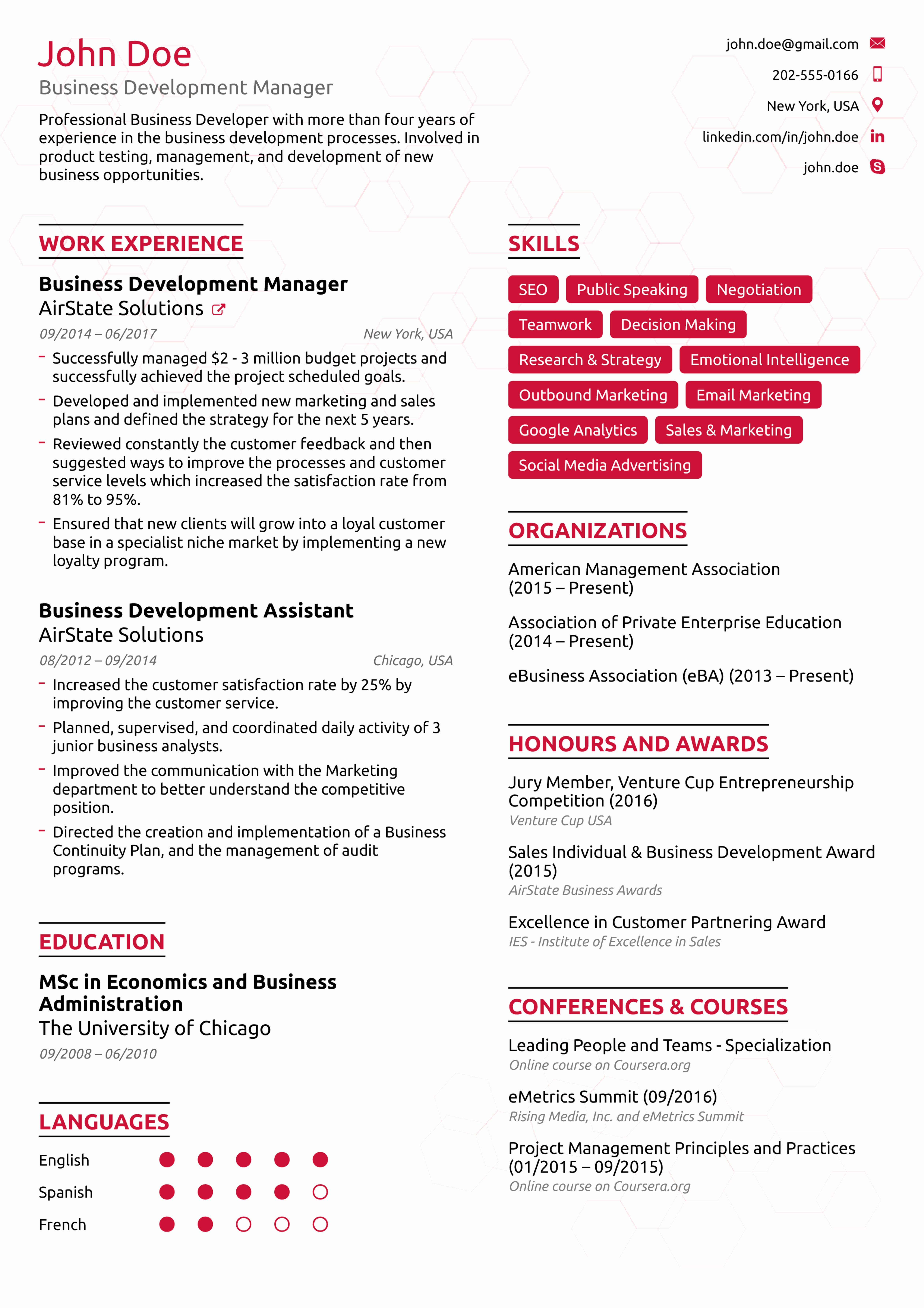 Best Resume format Inspirational Resume Examples for Your 2019 Job Application