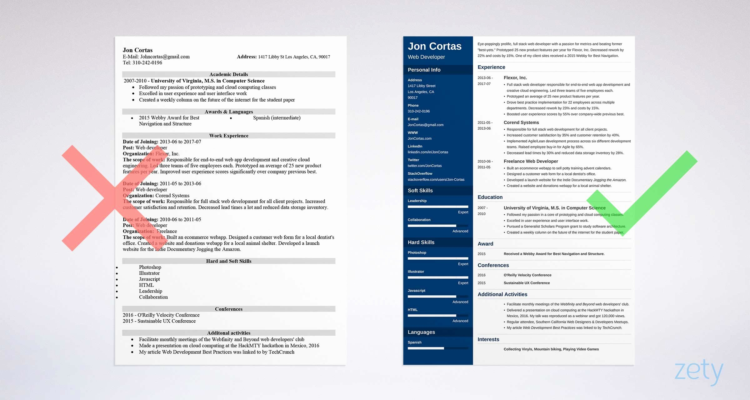 Best Resume format Luxury 15 Resume Templates for Word Free to Download