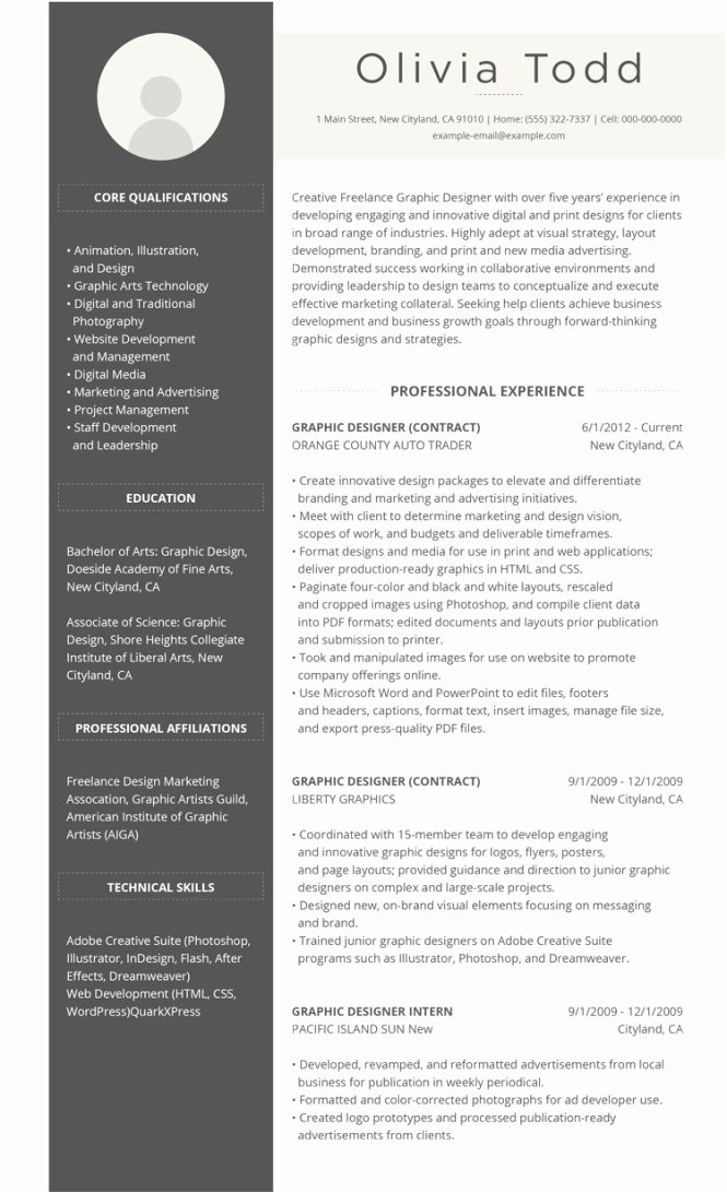 Best Resume format Luxury Best It Resume format Resume Sample