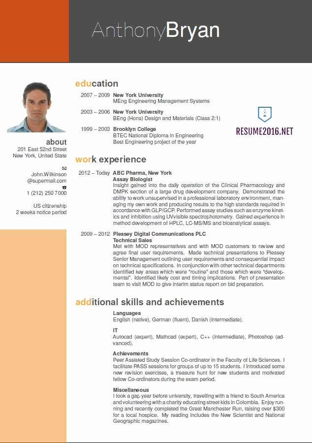 Best Resume format New Best Resume format 2016 which One to Choose In 2016