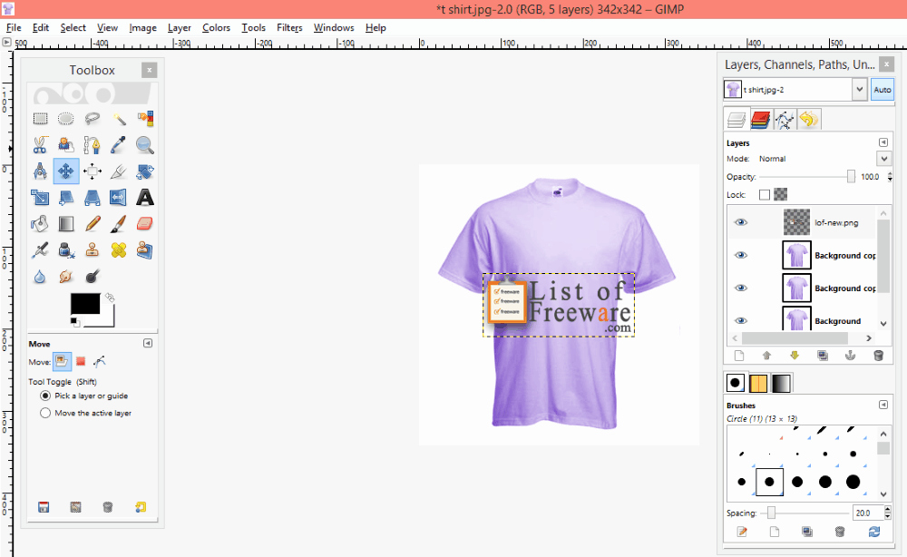 Best Tshirt Design software Inspirational 6 Best Free T Shirt Design software for Windows