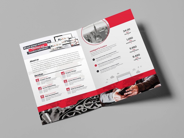 Bi Fold Pamphlet Template Awesome World Bi Fold Brochure Template Template Catalog
