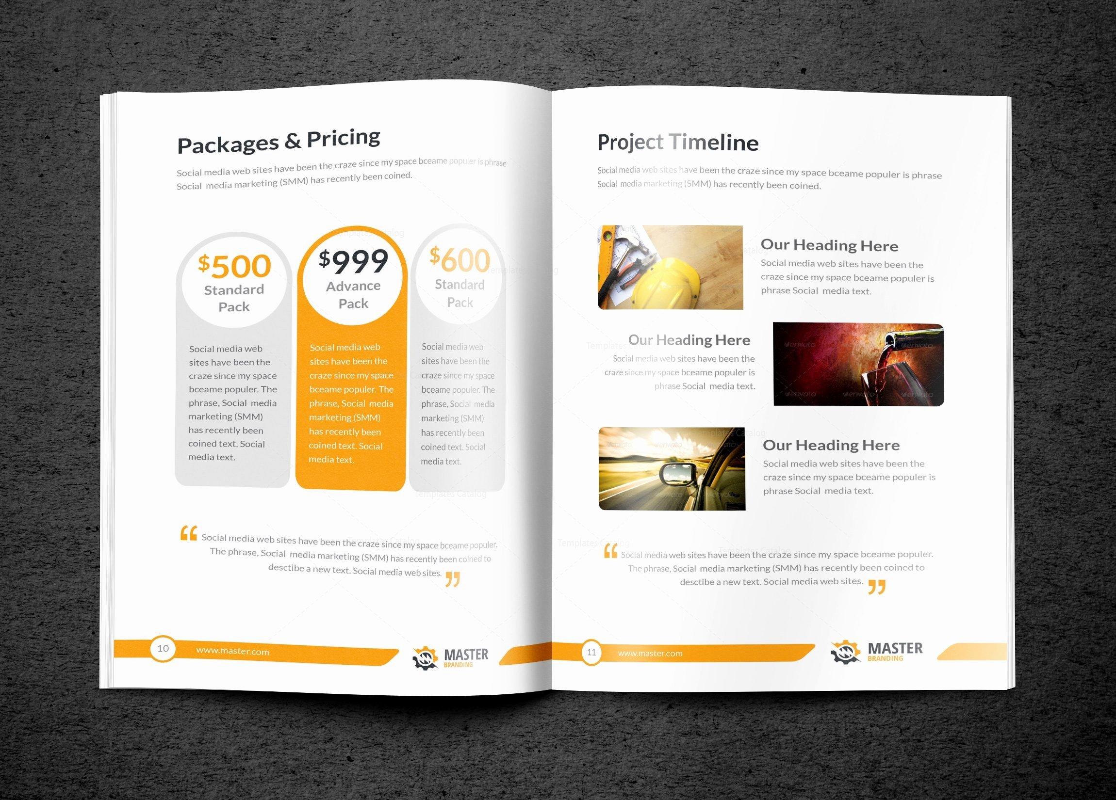 Bi Fold Pamphlet Template Beautiful Master Premium Business Bi Fold Brochure Template