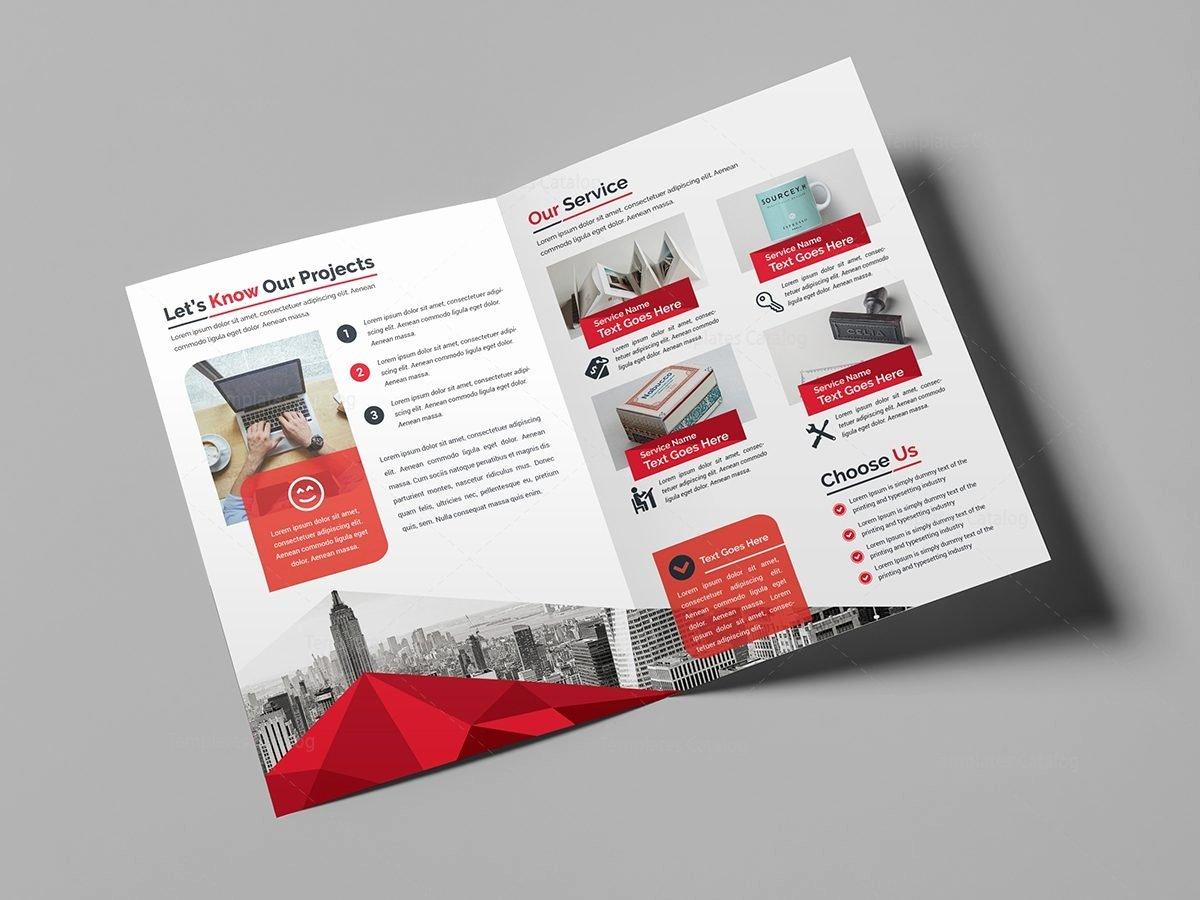 Bi Fold Pamphlet Template Best Of Classy Bi Fold Brochure Template Template Catalog