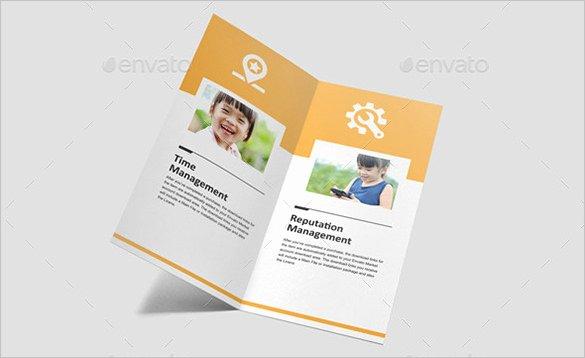 Bi Fold Pamphlet Template Elegant 33 Bi Fold Brochure Templates Free Word Pdf Psd Eps
