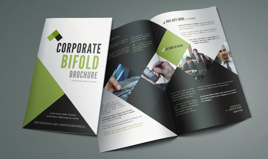 Bi Fold Pamphlet Template Inspirational Free Bi Fold Brochure Template by Pixeden On Deviantart