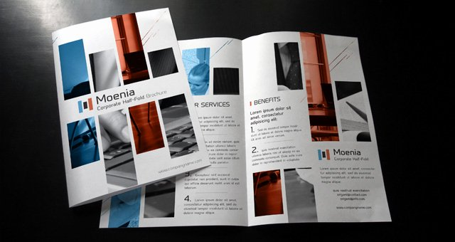 Bi Fold Pamphlet Template Luxury Moenia Bi Fold Brochure Template