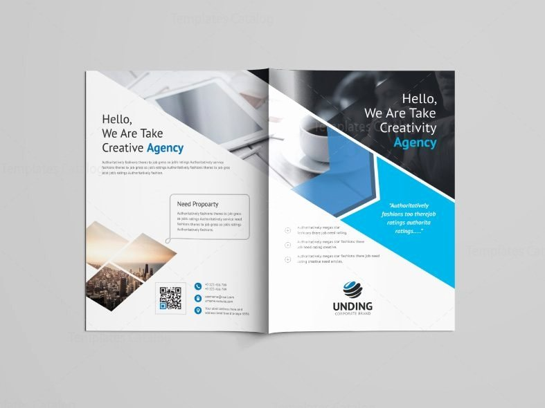 Bi Fold Pamphlet Template New Versatile Professional Bi Fold Brochure Template