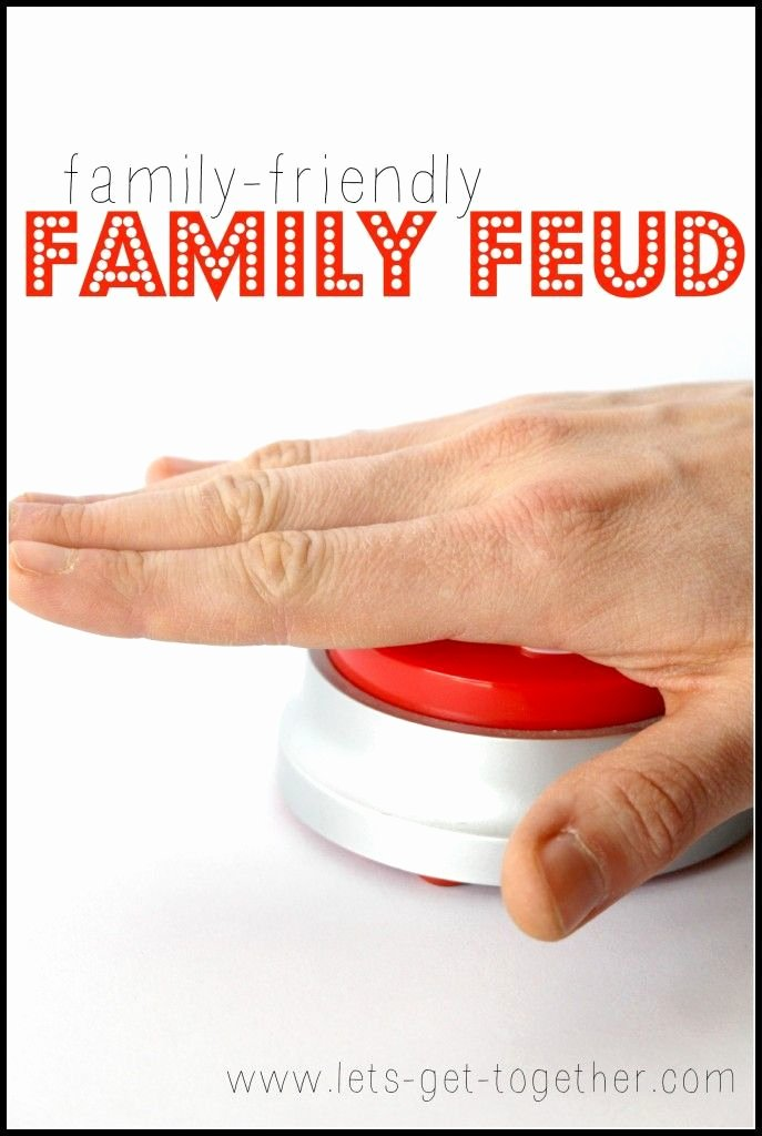 Bible Family Feud Questions Lovely Family Friendly Family Feud