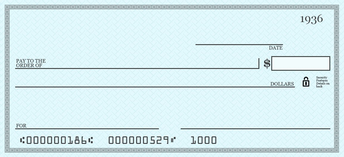 Big Fake Check Template Elegant Blank Check Template