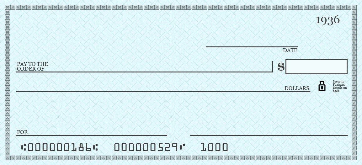 Big Fake Check Template New Big Check Template Free Download