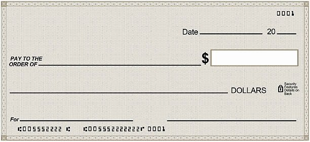 Big Fake Check Template New Royalty Free Blank Check and Stock