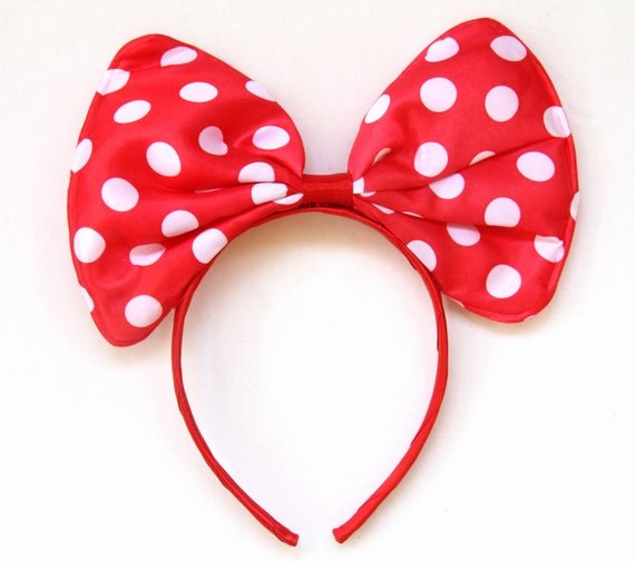 Big Minnie Mouse Bow Fresh Minnie Mouse Bow Headband Minnie Bow Headband Big Minnie