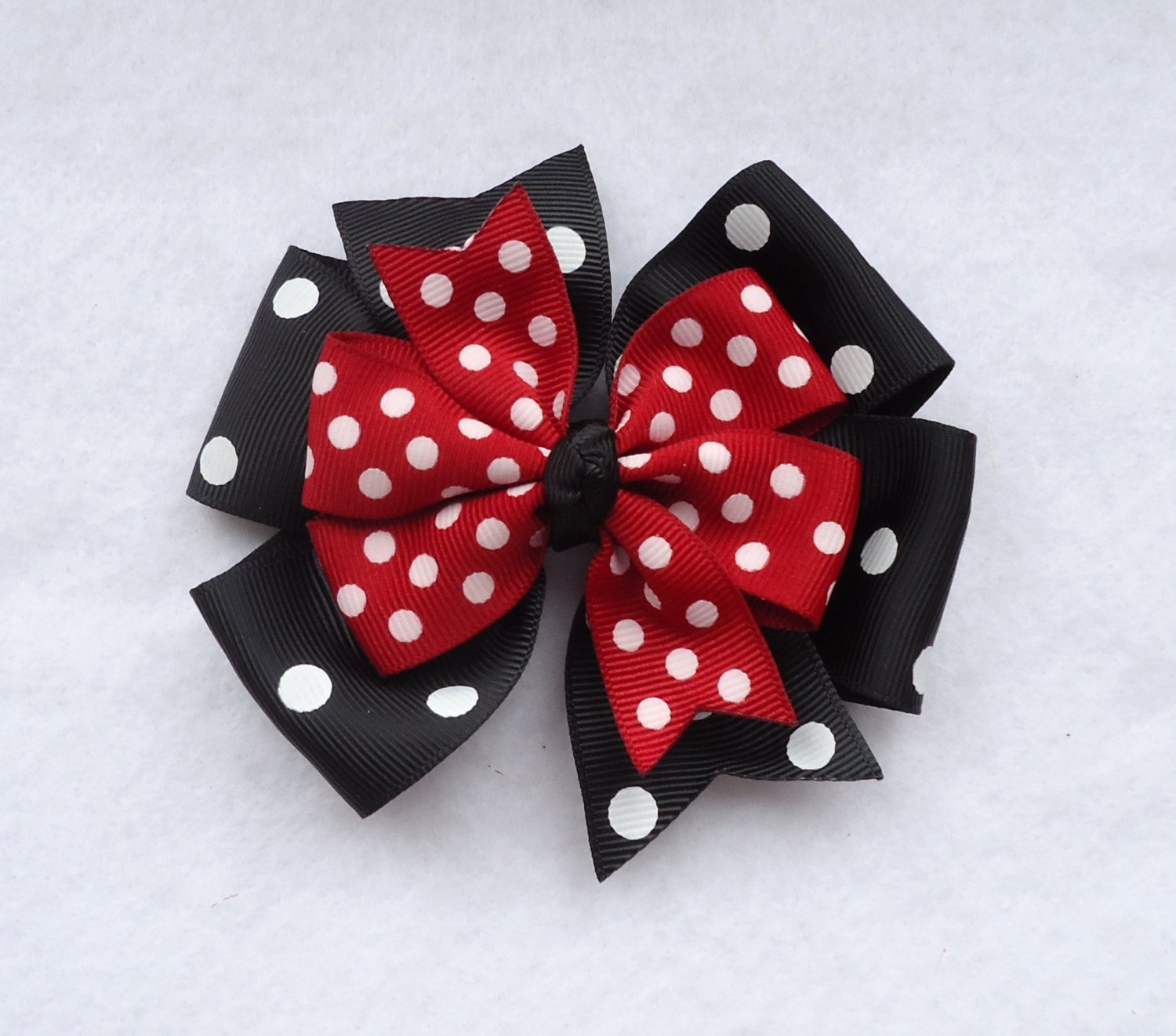 Big Minnie Mouse Bow Fresh Minnie Mouse Hair Bow Minnie Mouse Pinwheel Style Bow Red