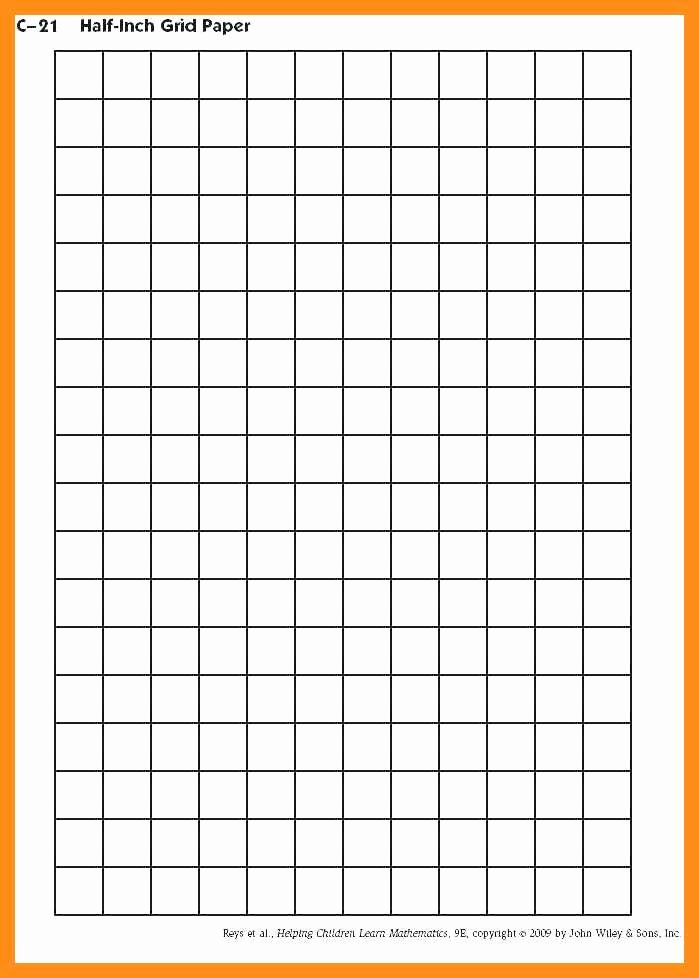 Big Square Graph Paper Fresh 10 11 Grid Paper Template for Excel