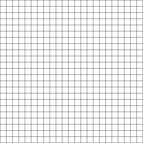 Big Square Graph Paper Luxury Blank23 599×599 Pixels Grids