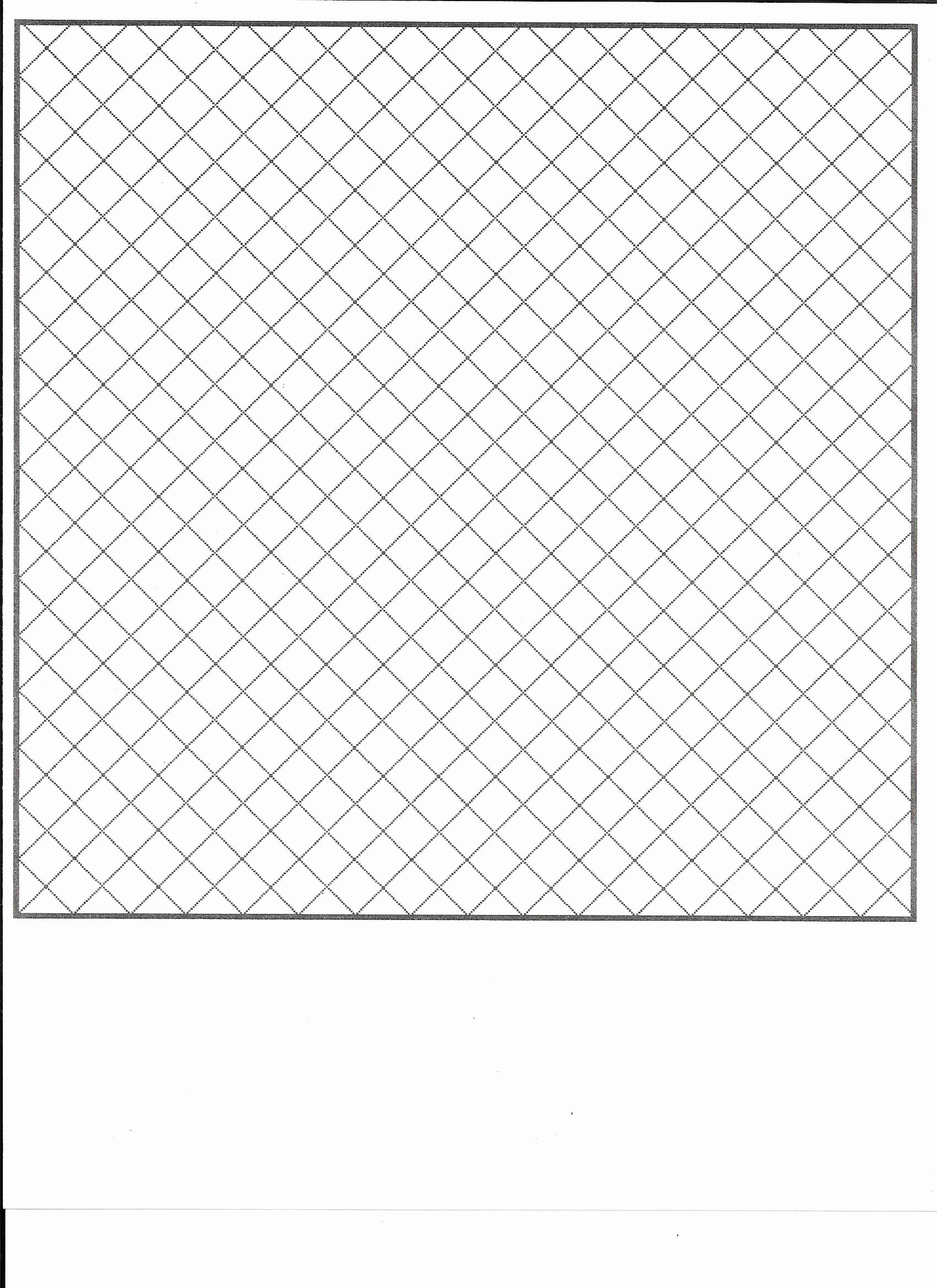 Big Square Graph Paper Luxury Diagonal Squares On Point Graph Paper if You Like to Map
