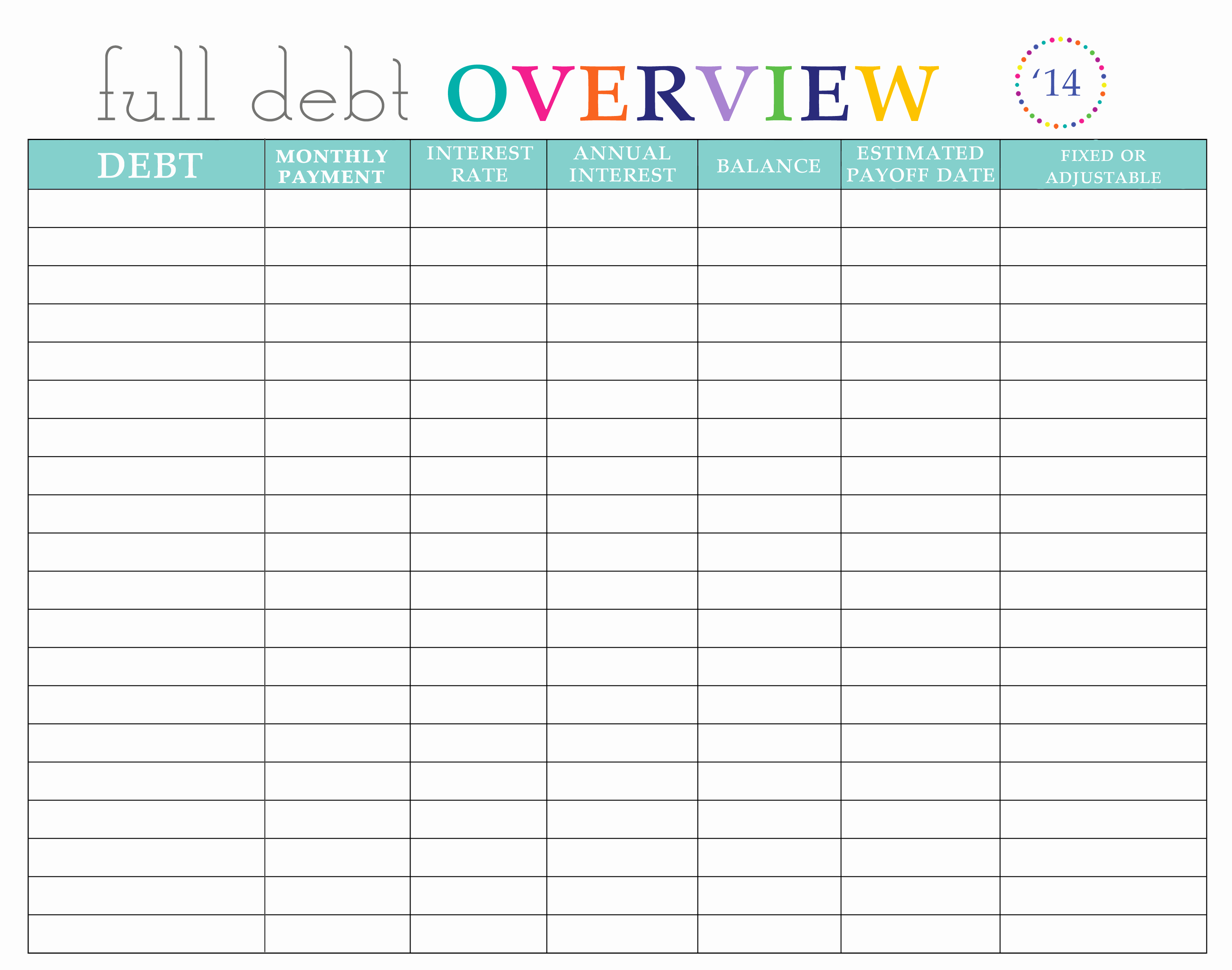 Bill Pay Spreadsheet Template Awesome Paying Off Debt Worksheets