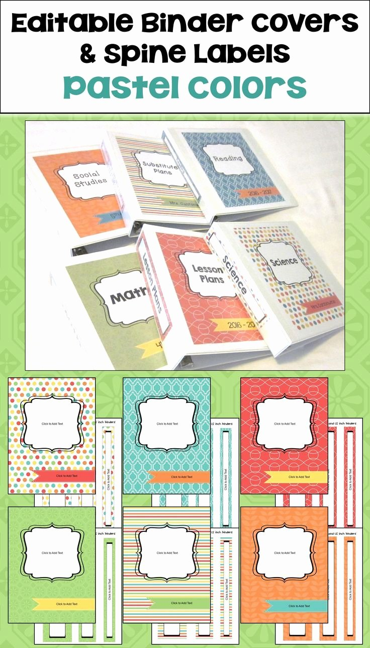 Binder Label Template Free Best Of Best 25 Binder Spine Labels Ideas On Pinterest