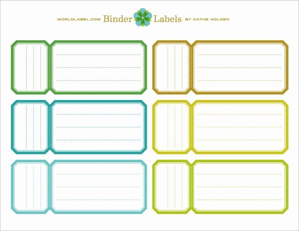 Binder Label Template Free Luxury Binder Labels In A Vintage theme by Cathe Holden