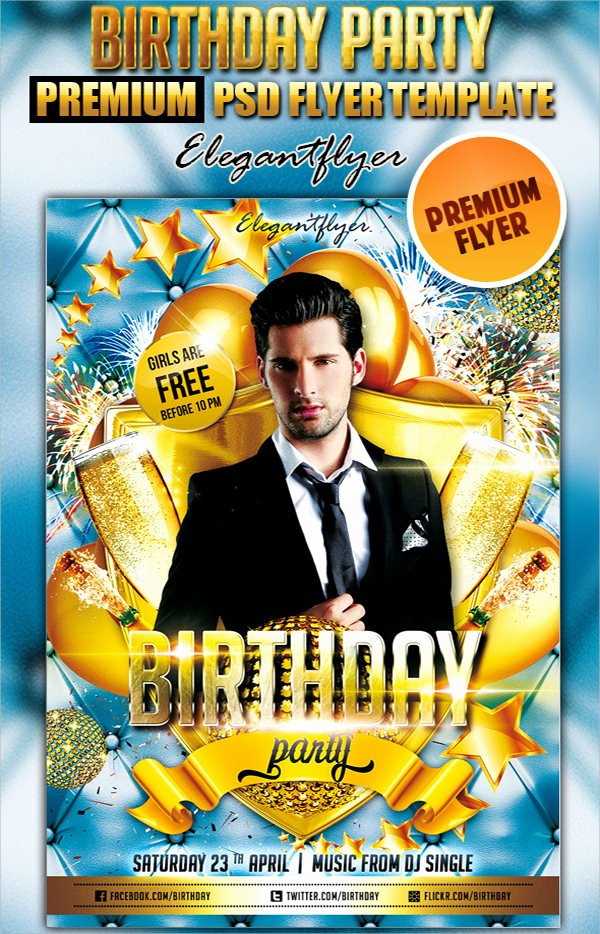 Birthday Flyer Templates Free Beautiful 17 Amazing Sample Birthday Flyer Templates to Download