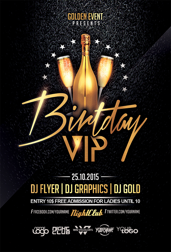 Birthday Flyer Templates Free New Birthday Flyer Template