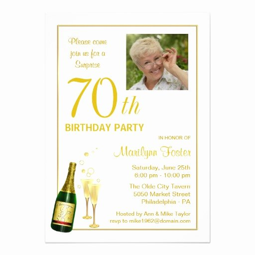Birthday Party Programme Sample Luxury 70th Birthday Party Invitations Ideas for Him – Bagvania