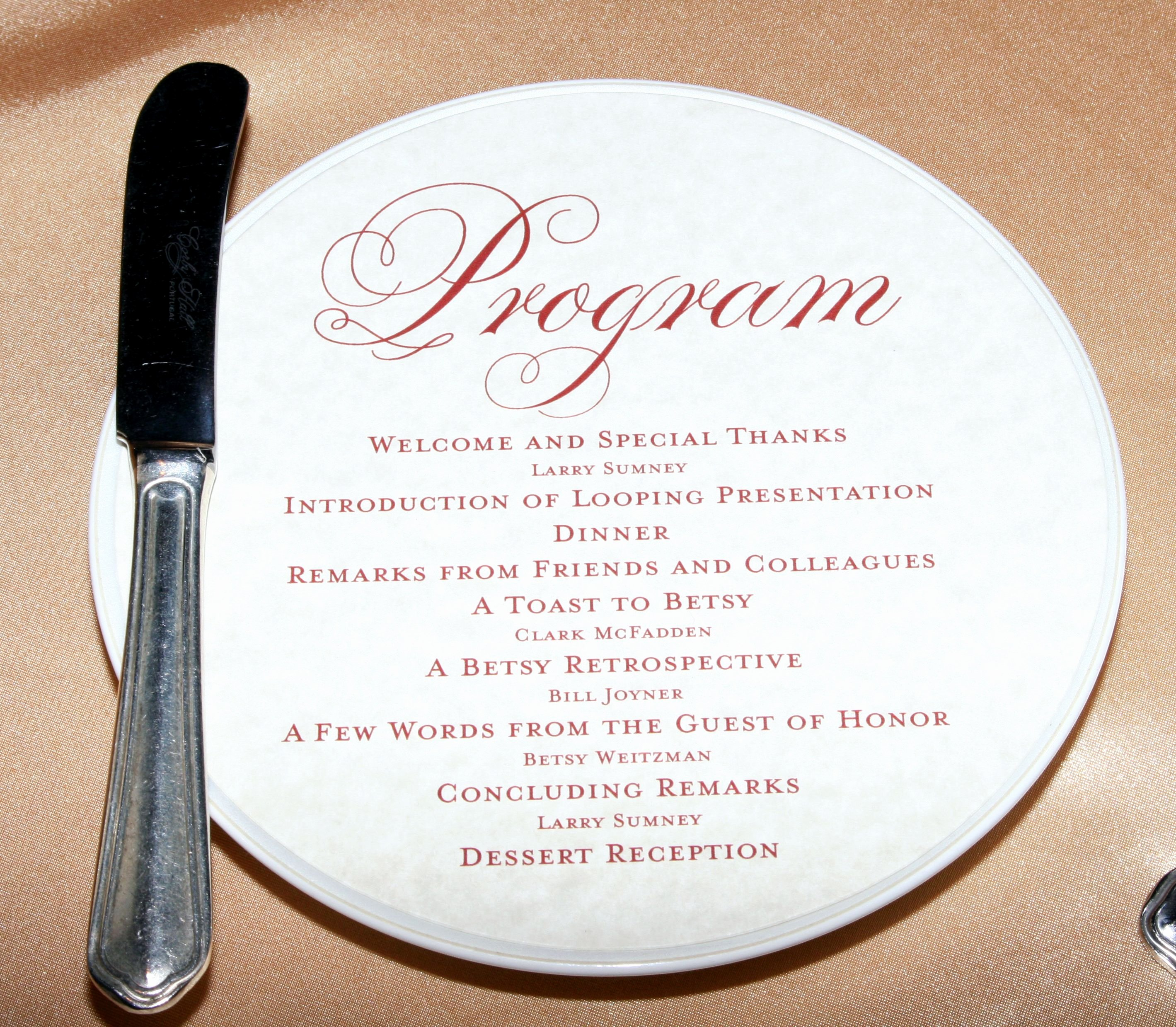 Birthday Party Programme Sample Luxury Ceremony Invitation Like the Style