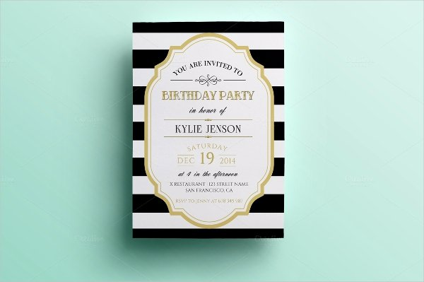 Birthday Party Programme Sample New 18 Folded Invitation Templates
