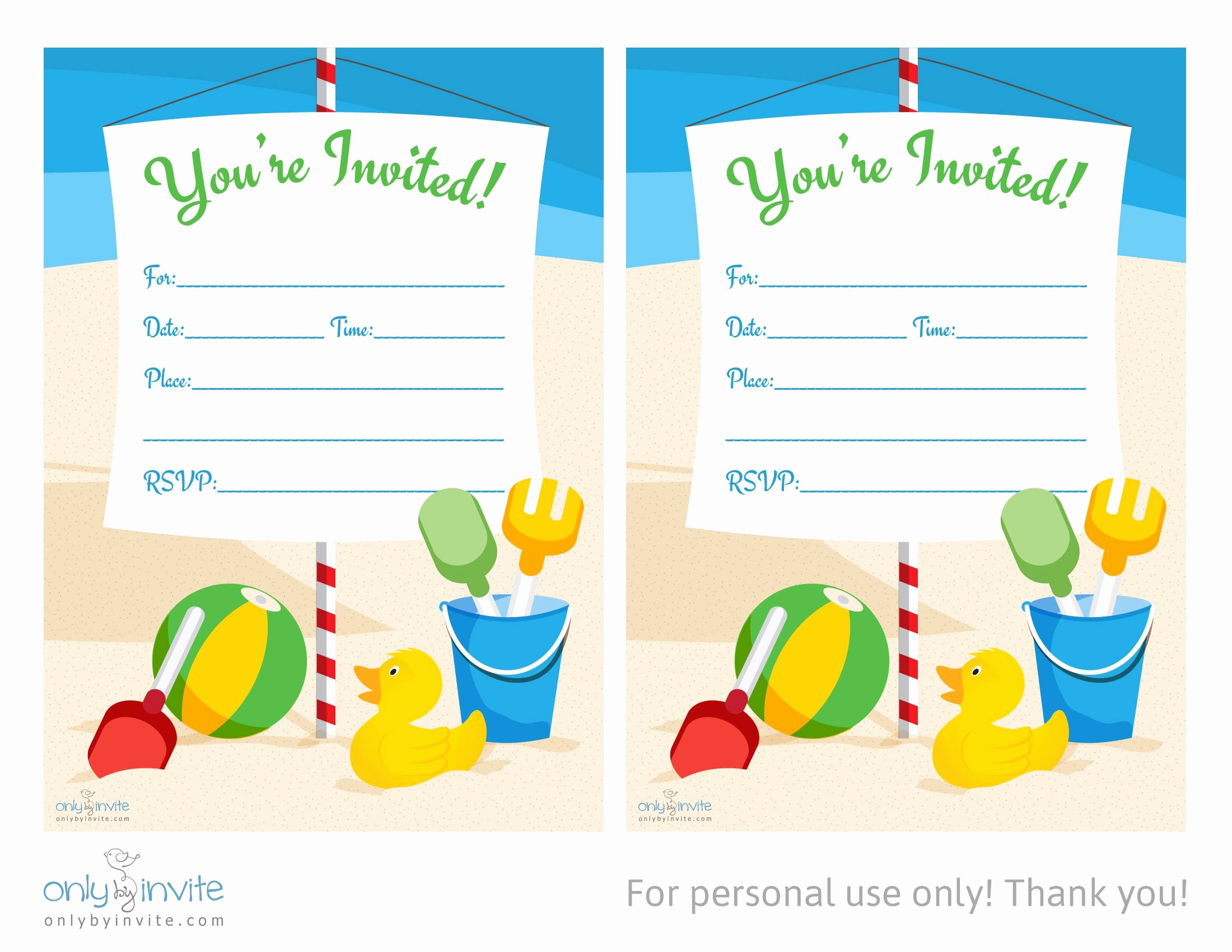 Birthday Party Template Word Beautiful Card Template Blank Invitation Templates Free for Word