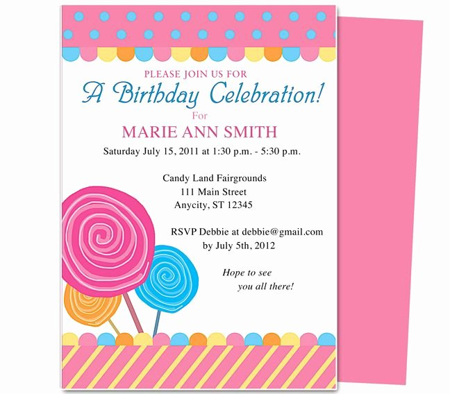 Birthday Party Template Word Beautiful Pin by Paulene Carla On Party Invitations