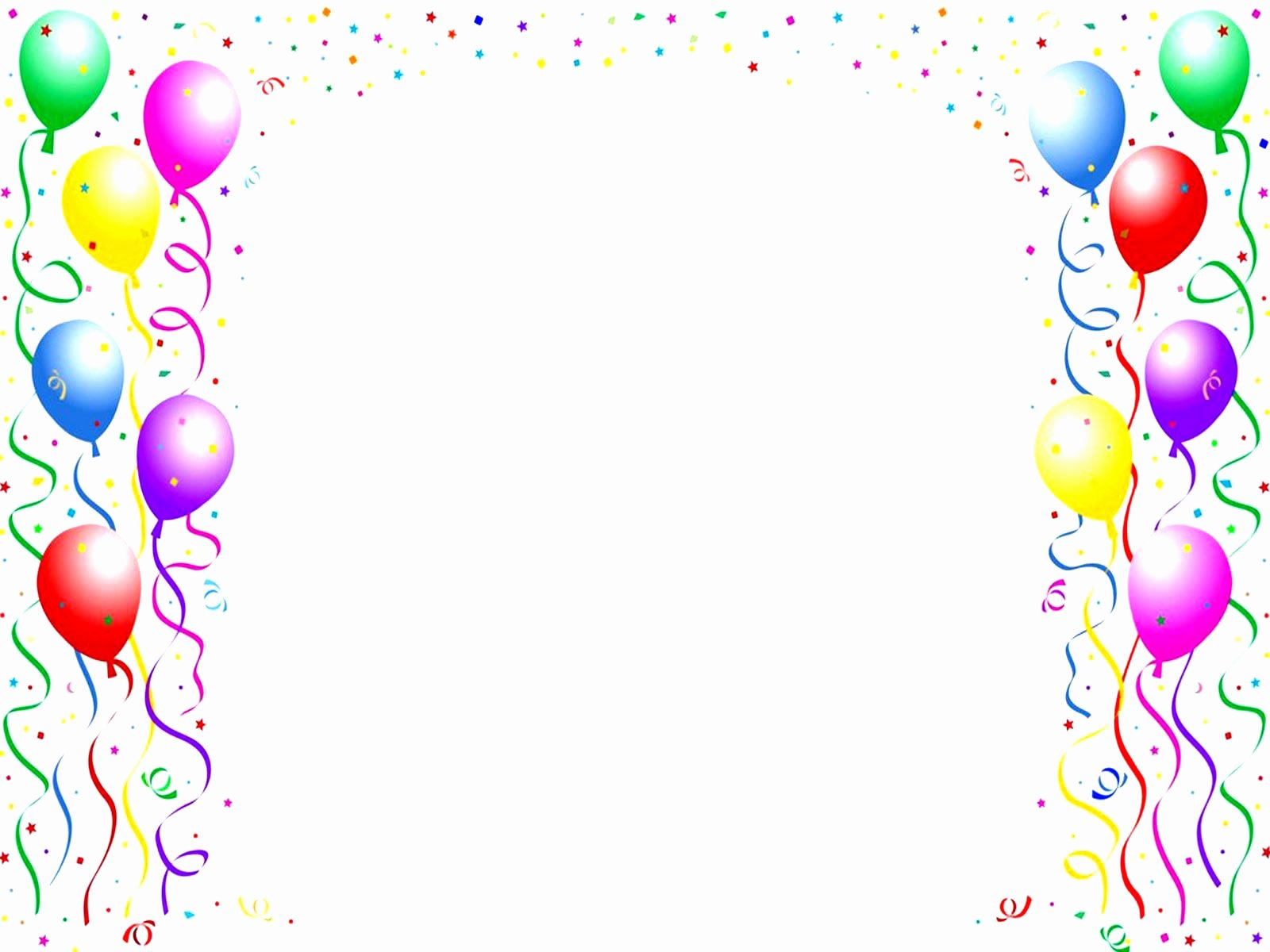 Birthday Party Template Word Luxury Birthday Card Template