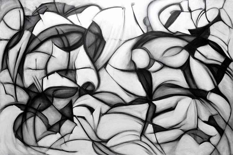 Black and White Abstract Pictures Elegant Black and White Abstract Painting Abstract Painting