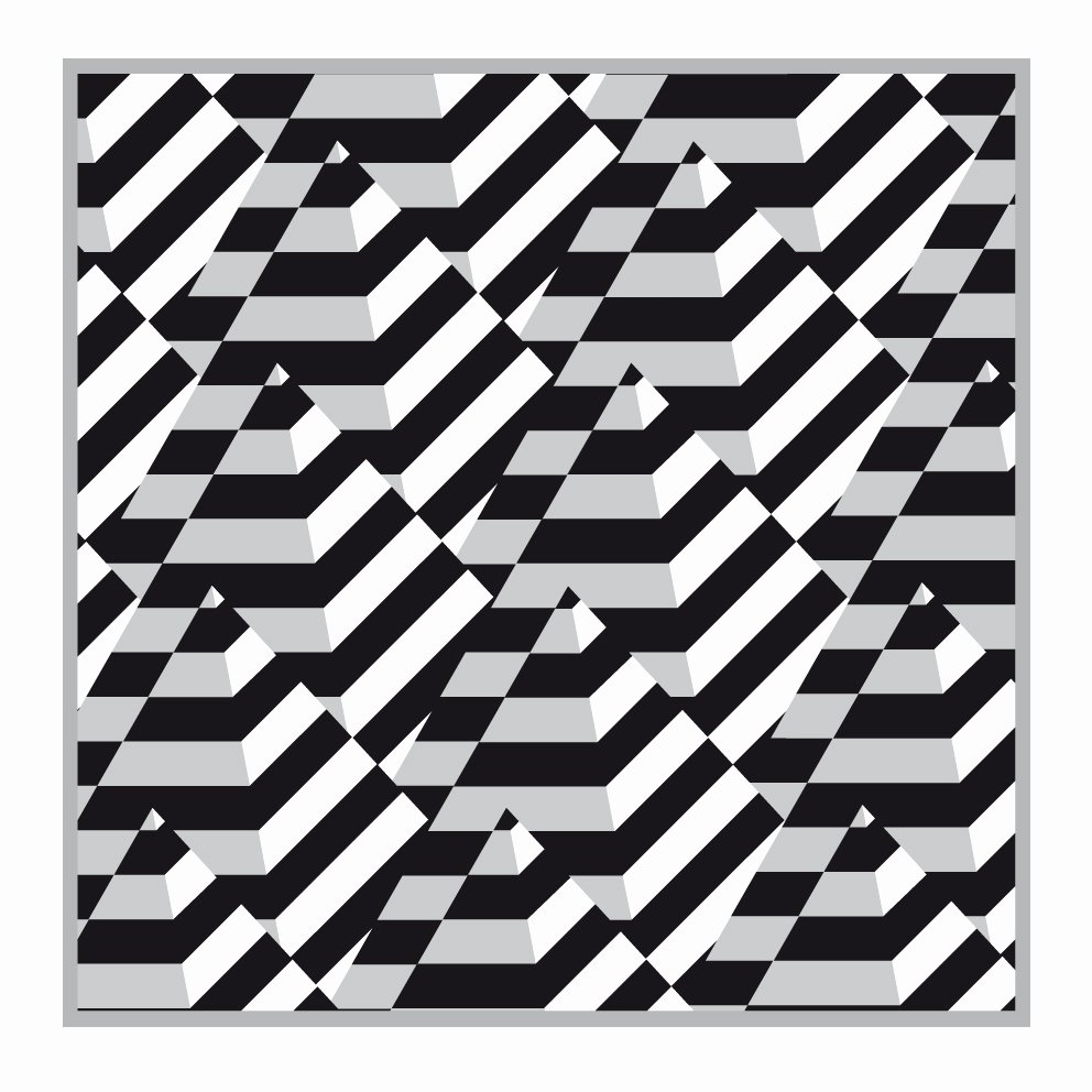 Black and White Designs Art Awesome Op Art Rectangles