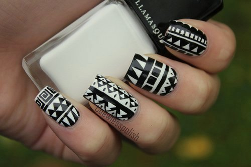Black and White Designs Art Beautiful 11 Classic Black and White Nail Design Ideas Pretty Designs