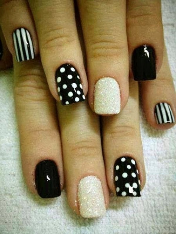 Black and White Designs Art Best Of 55 Black and White Nail Art Designs Nenuno Creative
