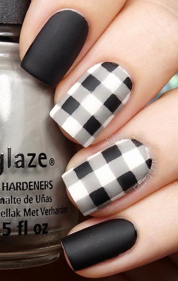 Black and White Designs Art New 30 Stylish Black & White Nail Art Designs for Creative Juice