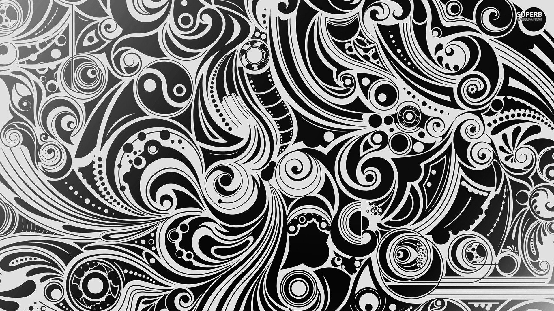 Black and White Designs Art New Abstract Art Black and Whit Hd Wallpaper Background