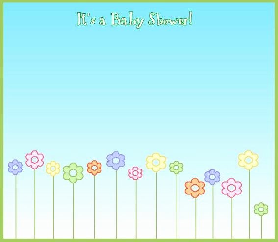 Blank Baby Shower Template Fresh Blank Baby Shower Invitations 16