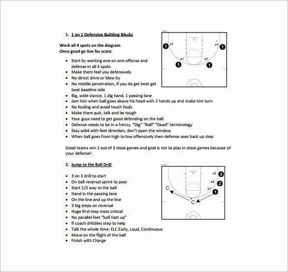 Blank Basketball Practice Plan Template Luxury 11 Basketball Practice Plan Templates Free Sample